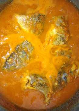 Tempoyak Kepala Ikan Nila