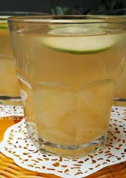 Nata De Coco Lime Herb Tea | Minuman Dingin