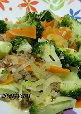 Resep Telur Dadar Brokoli Enak Mudah
