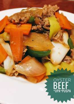 Niiyama Beef Oyster Itame (tumis daging sapi oyster sauce)
