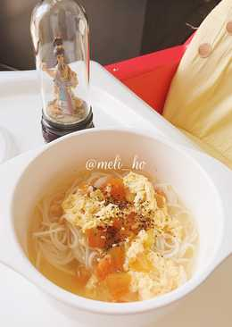 Misoa Ayam Kuah Tomat Telur (MPASI 1y+)