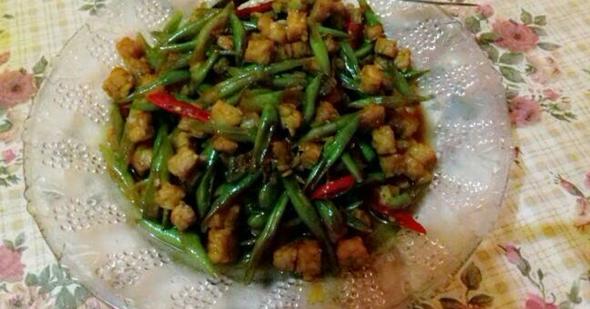 resep tumis buncis tempe oleh naniyulianti   cookpad