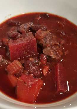 "Beef stew ""red dish"""