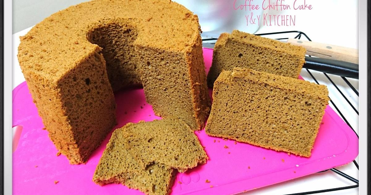 Resep Coffee chiffon cake