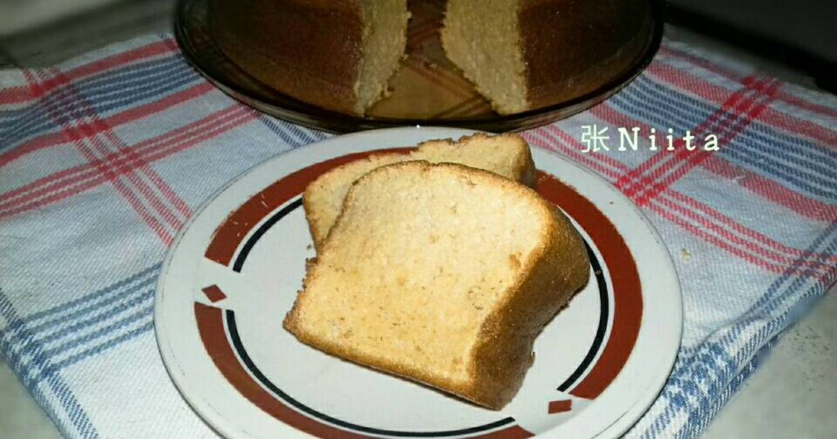 Resep Chiffon Cake Gula Merah