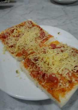 383 Resep Pizza Sosis Roti Tawar Enak Dan Sederhana
