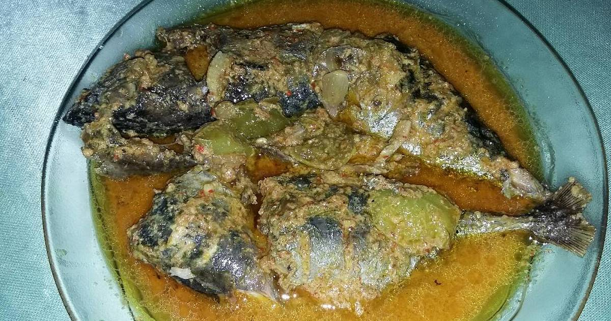 resep ikan bakar masak santan oleh megaryne   cookpad