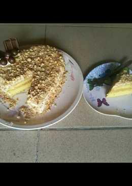Vanilla nougat cake valentine 😆