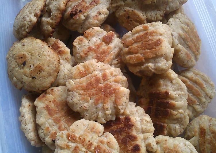 resep makanan Oatmeal Peanut Cookies