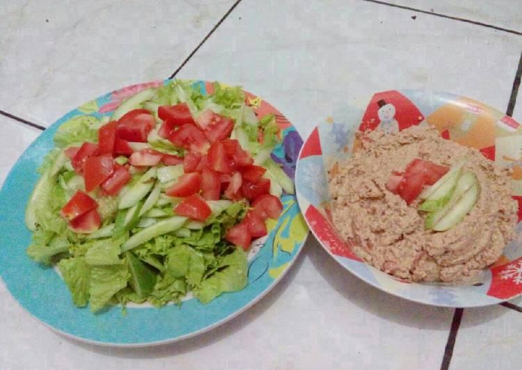Jenis Sayuran Untuk Salad dan cara membuat salad