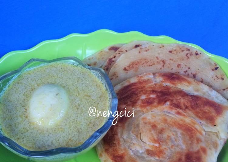 Resep Roti Canai Kuah Kari Oleh Neng Cici