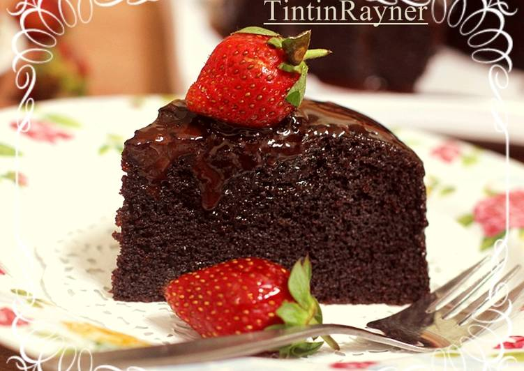 Chocolate gateau resep
