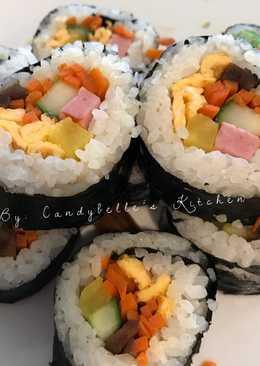 Gimbap (korean sushi)
