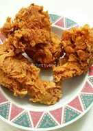Kentucky Fried Chicken (anti gagal, Renyah + Crispy tahan 8 jam)