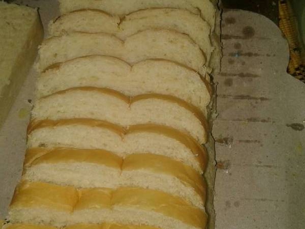 Roti tawar eggless
