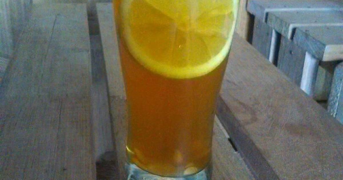 Resep Honey lemon tea
