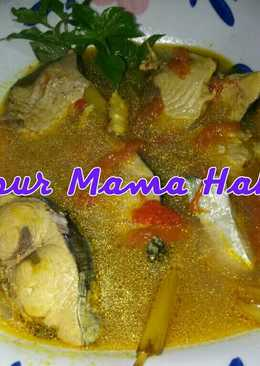 Ikan Cakalang Sereh Kuah Kuning