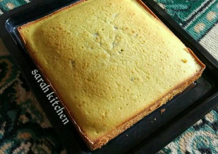 Resep Cake Putih Telur NCC lembut & enakk By Titi Damayanti