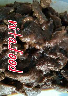 Daging Teriyaki pedas