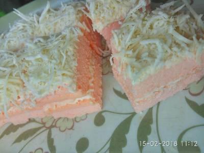 Fruity layer cake #Ketopad #kisahkasihcookpad