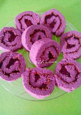 Bolu Gulung Nutrijel (flourless)