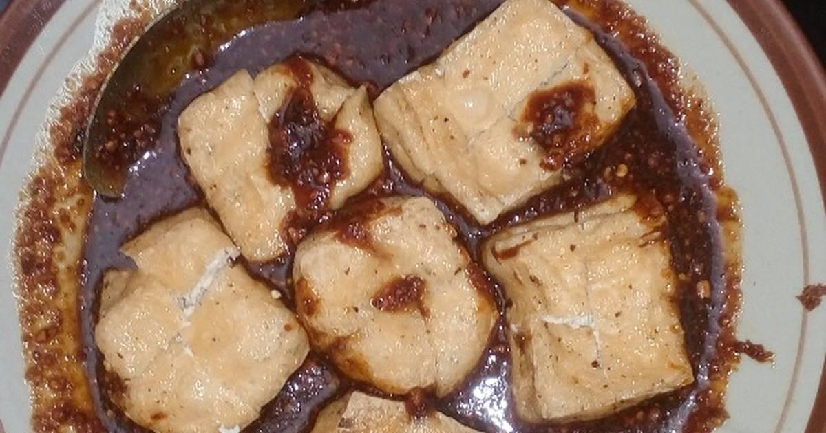 resep sambel kacang tahu oleh   cookpad