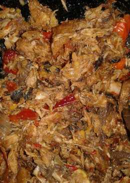 Tongkol suwir sambal tomat