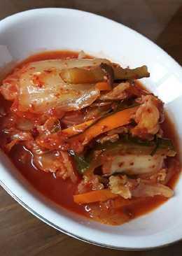 Kimchi. Easy