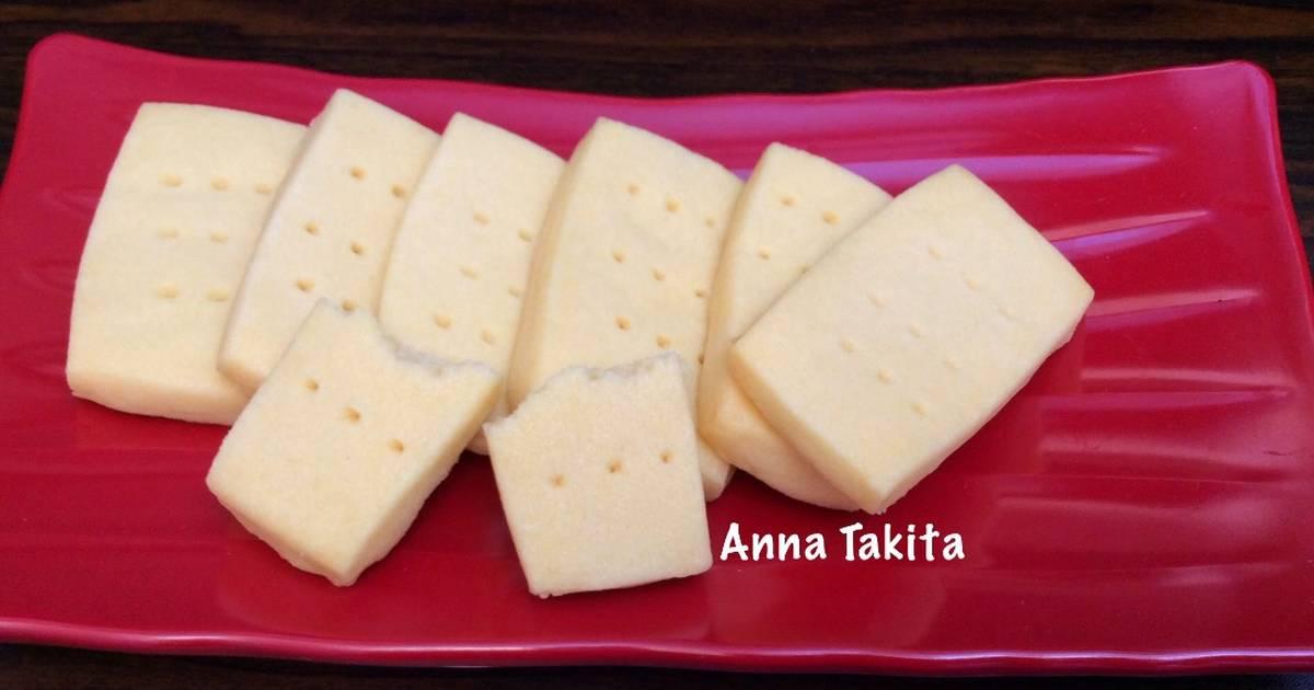 Resep Vanilla Shortbread Cookies