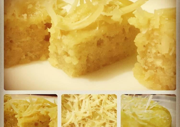 Resep Bolu Talas Kukus Keju Karya Chef Richie