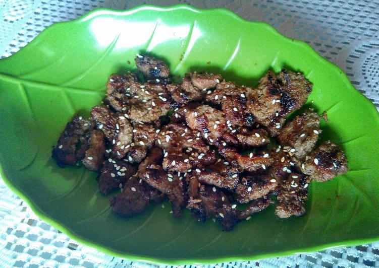 resep masakan Bulgogi (Korean BBQ)