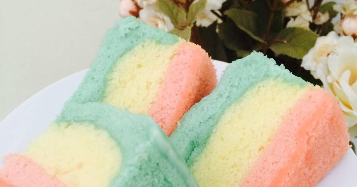 Resep Soft steamed cake/kue kukus simple