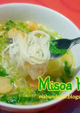 Misoa Kuah (toddler meal)