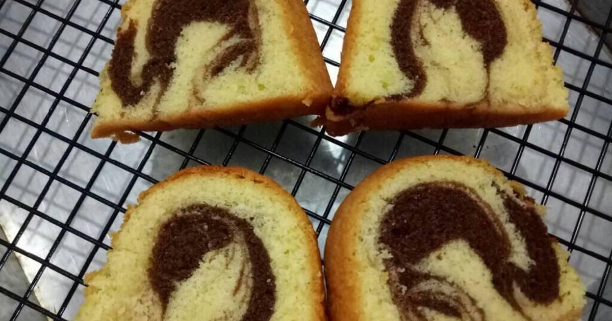 Resep Cake Jadul Sederhana: 704 Resep Cake Marmer Lembut Enak Dan Sederhana