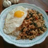 Pad Kra Pao Gai (Tumis Ayam Kemangi)