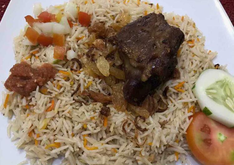 #10- Nasi Biryani Kambing #RabuBaru