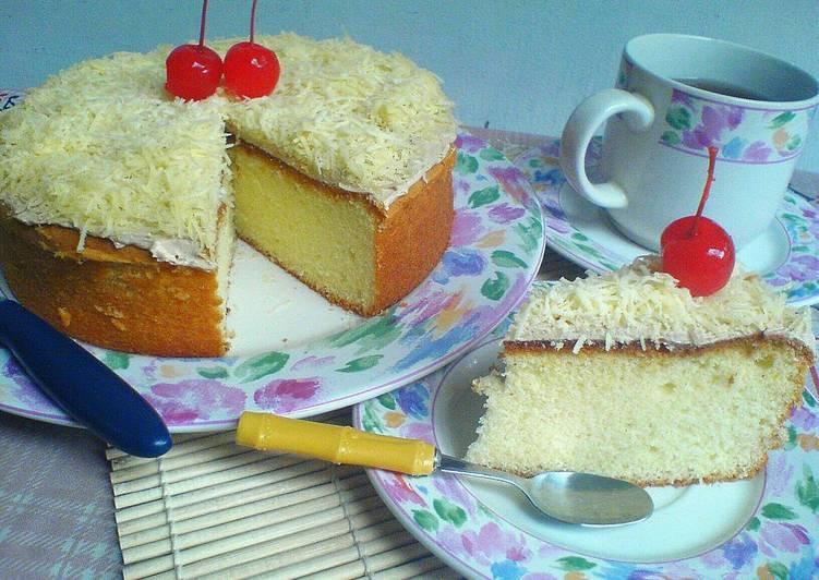 Resep Bolu Keju Jadul Ncc: Resep Bolu Jadul Keju (bisa Utk Base Cake Ultah) Oleh