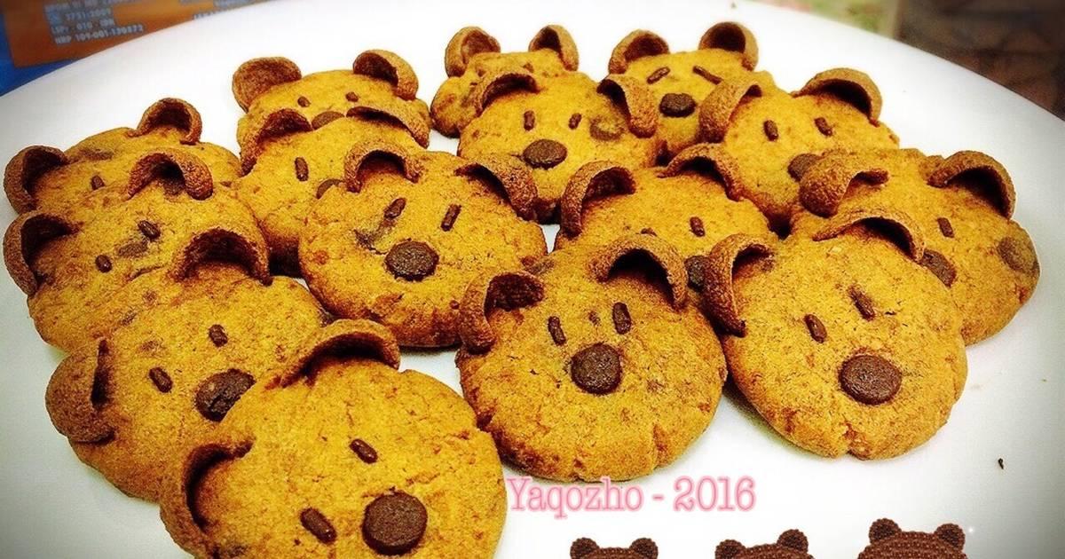 Resep Brown Cookies (character cookies)