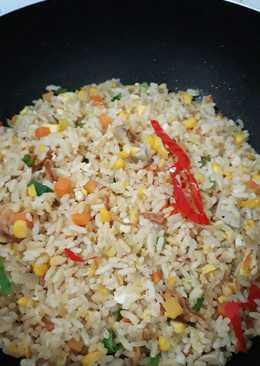 Nasi goreng hongkong simple