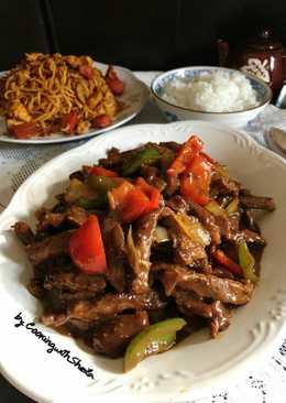 Sapi Lada Hitam (Beef Black Pepper)