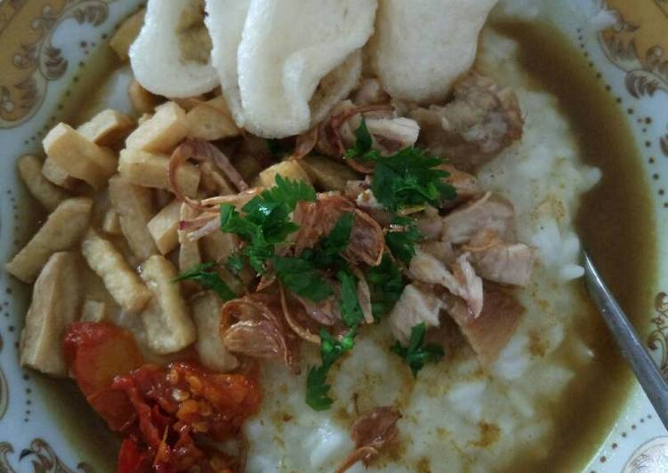 Resep Bubur ayam Kiriman dari Puji astuti