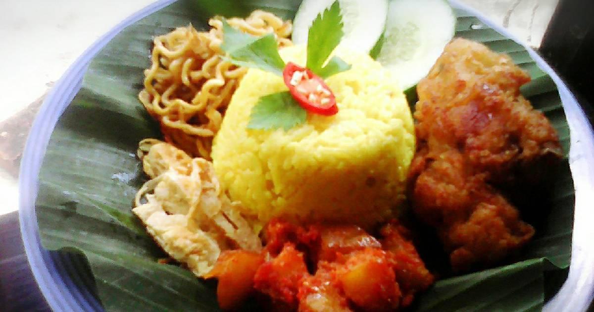 nasi kuning magic     70 resep   cookpad