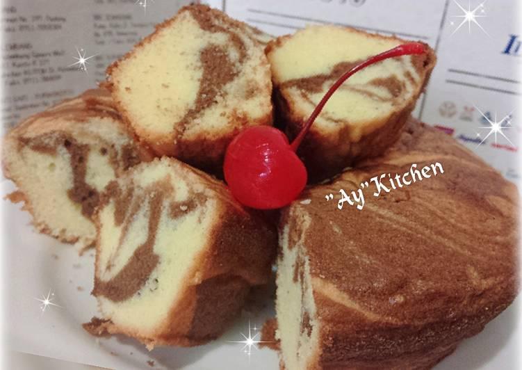 Resep Marmer Cake Jadul ala Siu Erl - Liya Aya