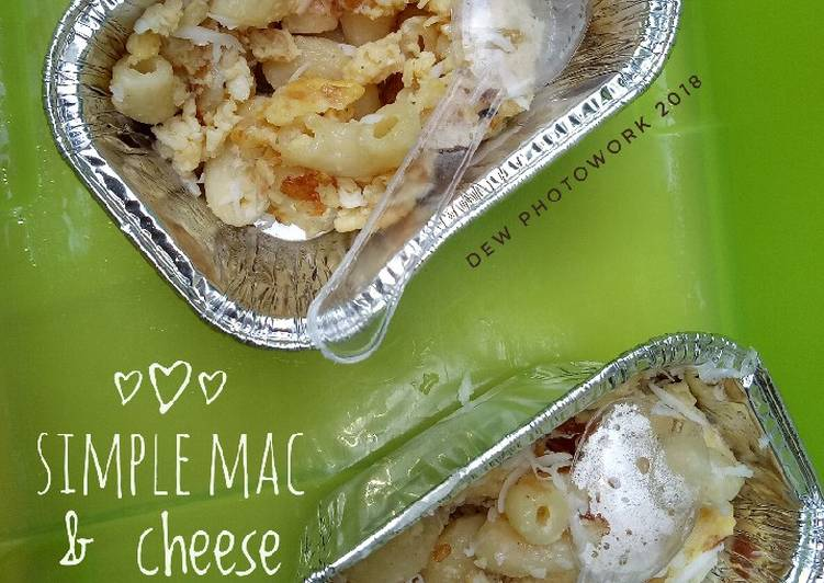 Simple Mac & Cheese