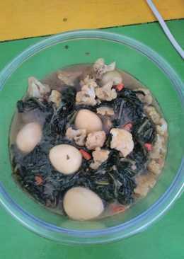 Tumis kangkung brokoli telur puyuh 😋