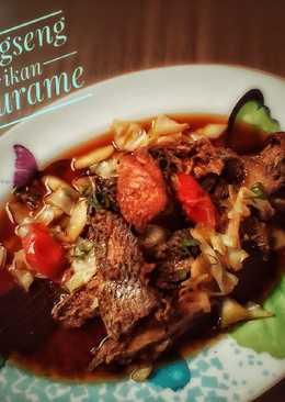 Tongseng Ikan Gurame #rabubaru