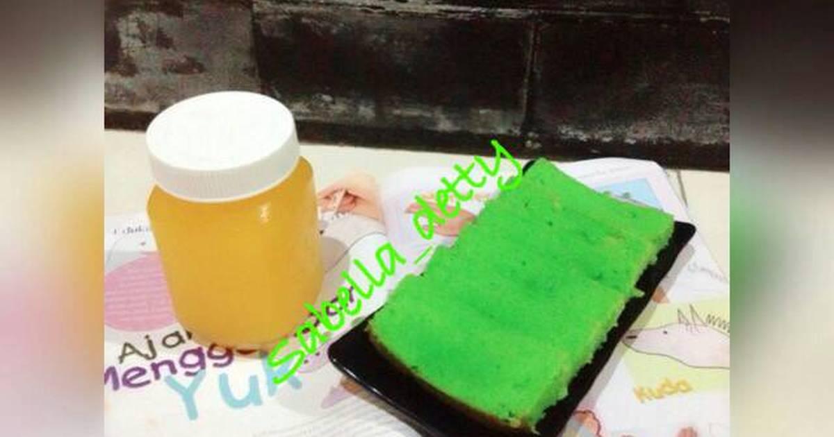 Resep Pandan Butter Cake