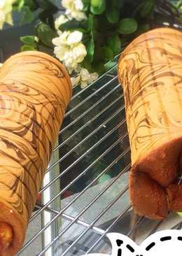 Bolu Gulung Marmer #beranibaking