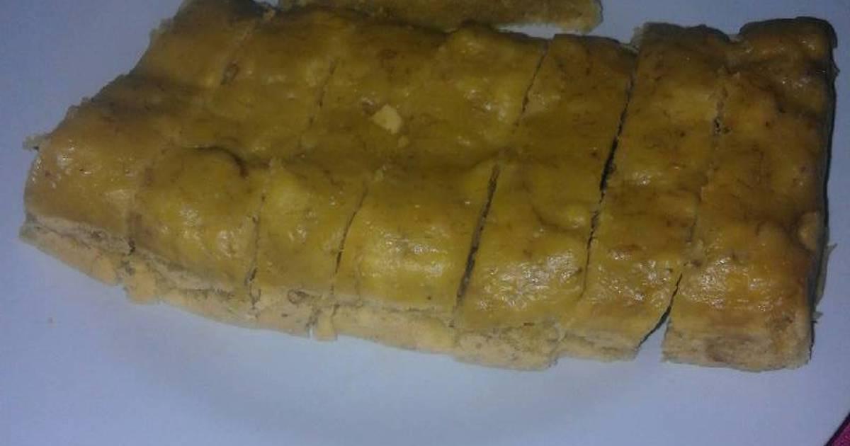 Resep Banana Cake Khas Jepang: Resep Banana Steam Cake Oleh Intan Dewi