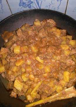 Sambel goreng kentang hati sapi